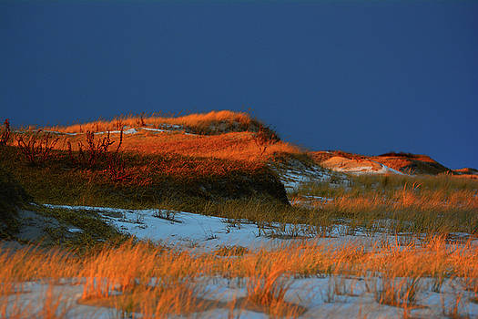Sunset Glow Dunes of IBSP by Raymond Salani III