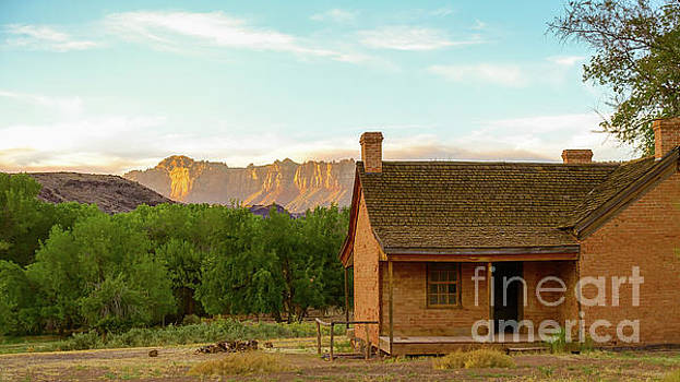 Sunset Grafton Ghost Town by Wendy Fielding