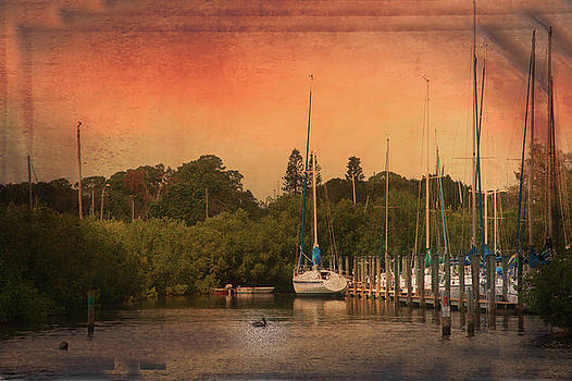 Sunset Harbor  by Eagle Finegan