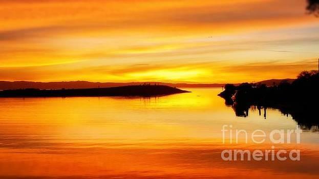 Sunset harmony by Kumiko Mayer