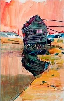 Sunset House on Stilts by Christina Shurts