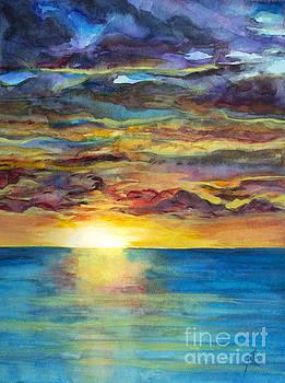 Sunset II by Suzette Kallen