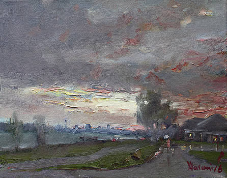 Ylli Haruni - Sunset in a Rainy Day