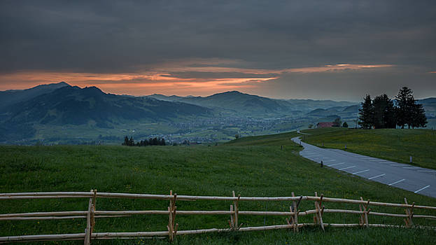 Sunset in Appenzell by Andreas Levi