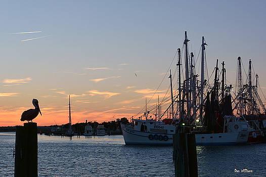Sunset in Beaufort by Dan Williams
