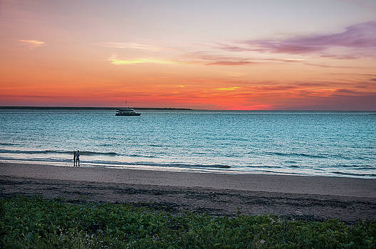 Sunset in Darwin, Australia by Daniela Constantinescu
