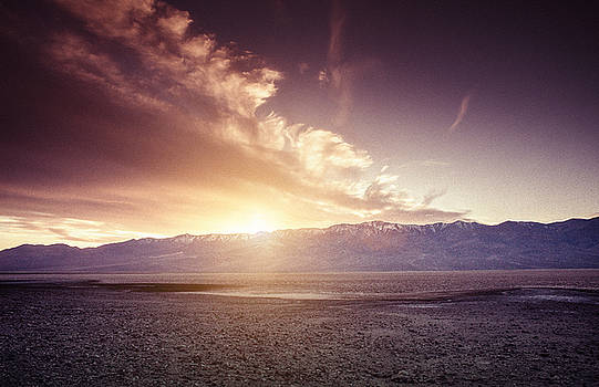 Sunset in Death Valley by Justin Carrasquillo