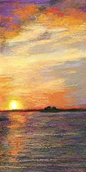 Sunset in Dunedin Two by Julianne Black
