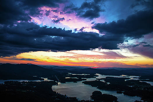 Sunset in Georgia by Mike Dunn