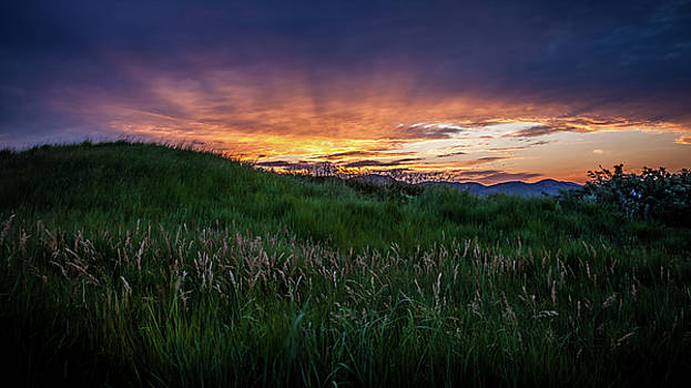 Sunset In Golden, CO by Jeanette Fellows