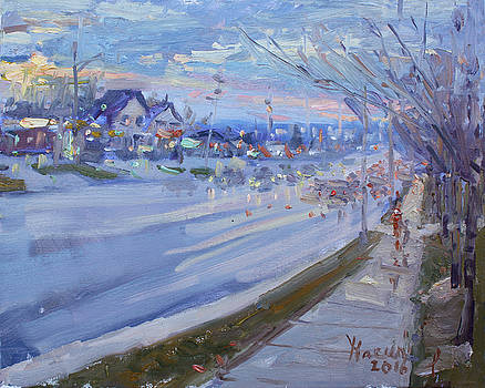 Ylli Haruni - Sunset in Guelph St Georgetown ON