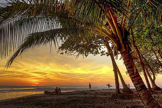 Sunset in Mal Pais by Cheryl Strahl