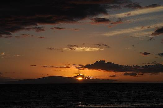 Sunset in Maui 2 by Michael Albright