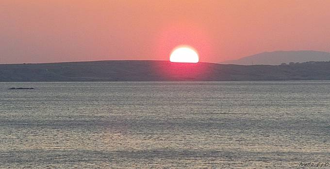 Sunset In Paradise by Ivana  Egic
