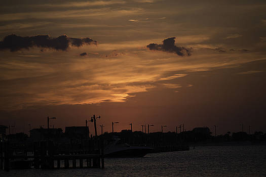 Sunset in Pensacola by Kelly E Schultz