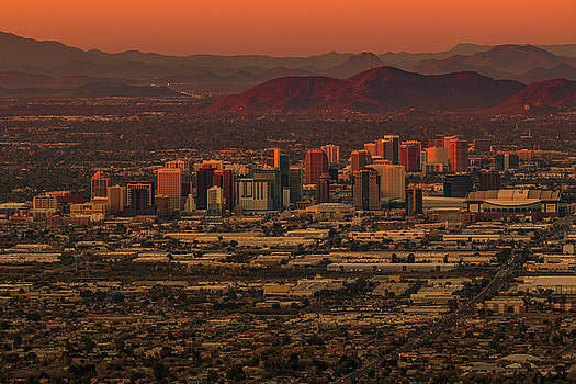 Rosemary Woods-Desert Rose Images - Sunset in Phoenix, AZ