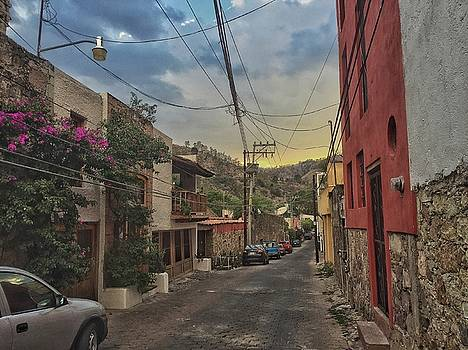 Sunset in San Matias, Guanajuato by Steffani Cameron