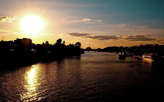 Sunset in Seville by Christian Almaraz