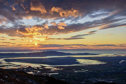 Sunset in the Desert by Bryan Carter