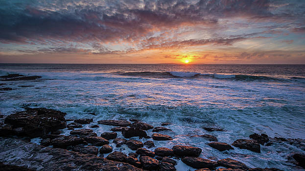 Sunset in the Burren Ireland by Pierre Leclerc Photography