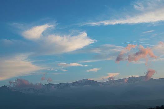 Sunset in the Central Balkan by Julien Van Dommelen