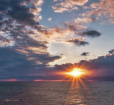 Sunset in the Clouds by Rebecca Samler