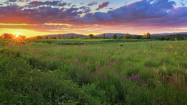 Sunset in the Hills 2017 by Bill Wakeley
