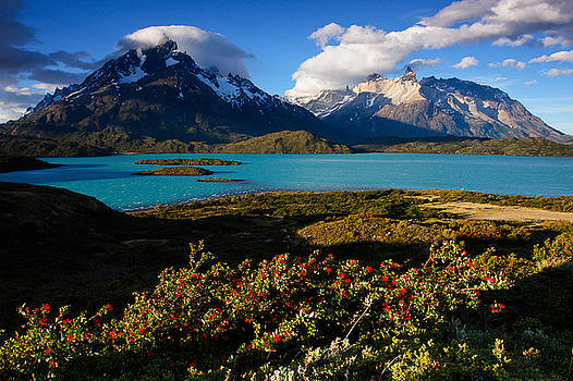 Sunset in Torres del Paine by Ivan Ilarionov