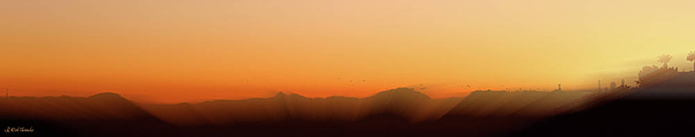 Sunset in Tucson by Rick Thiemke