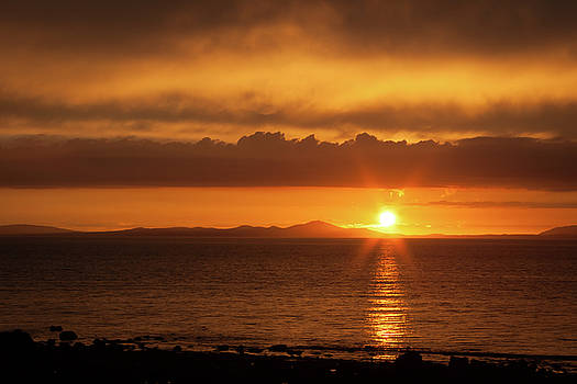 Sunset In Wales by Nigel Spencer