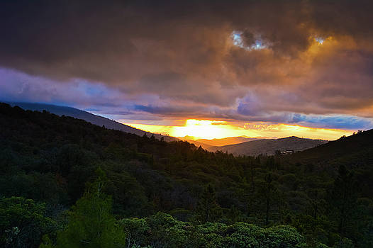 Sunset Julian San Diego by Kyle Hanson