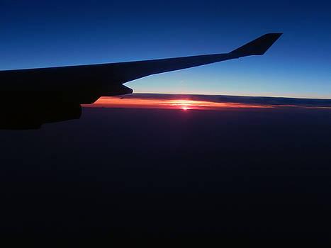 Sunset by Kelly E Schultz