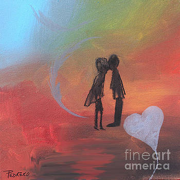 Sunset Kiss by Robin Maria Pedrero