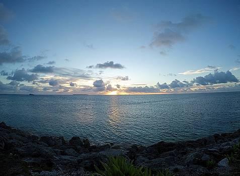Sunset Kwaj by Byron Fair