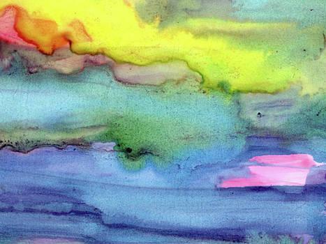 Sunset Lake by Ken OToole