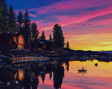 Larry Lamb - Sunset Lake