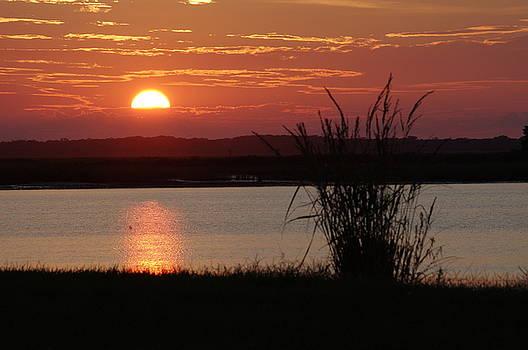 Sunset Lake II by Greg Graham