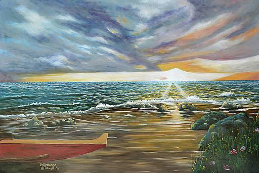 Sunset by Larry Geyrozaga