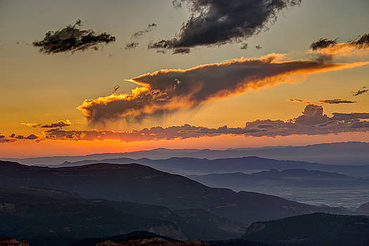 Sunset Layers by David R Robinson