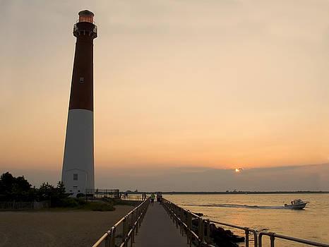 Sunset Lighthouse by Andrew Kazmierski