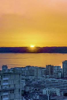 Sunset Marseille by Elly De vries
