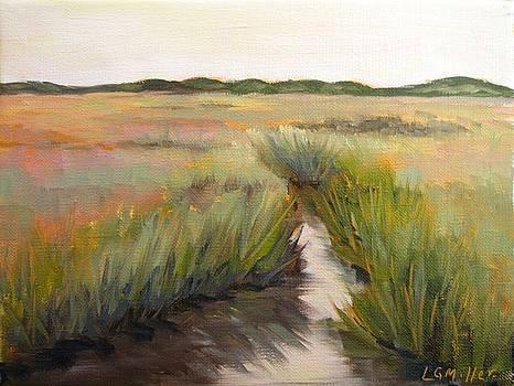 Sunset Marsh by Laurie G Miller