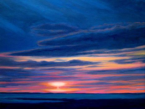 Sunset Martha's Vineyard by Jane  Simonson