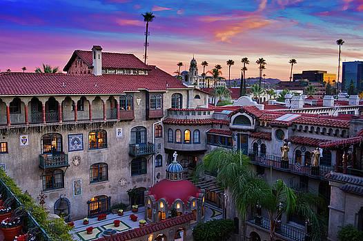 Sunset Mission Inn  by Kyle Hanson