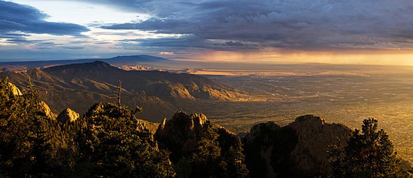 Sunset Monsoon over Albuquerque by Matt Tilghman