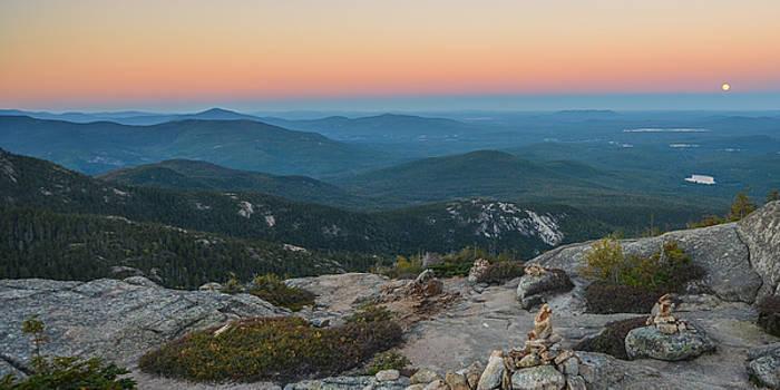Sunset/Moonrise on Mount Chocorua by Matthew MacPherson