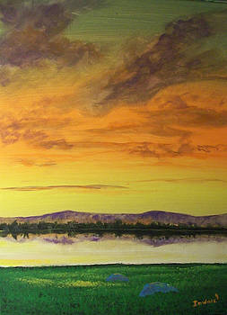 Sunset Mountain by Raymond Doward