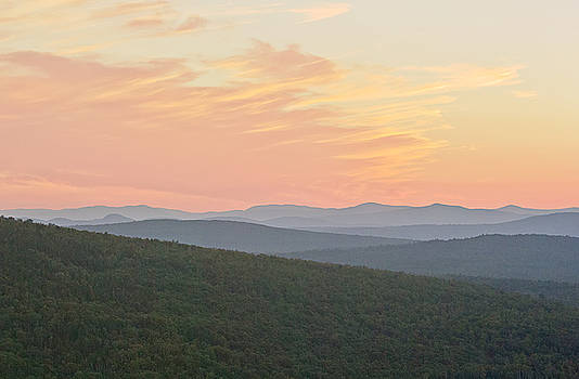 Sunset near Rangeley by Peter J Sucy