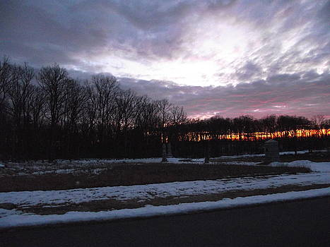 Sunset near Rose Woods by Jessica Hoover
