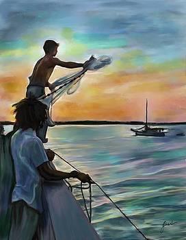 Sunset Nets by Julianne Black